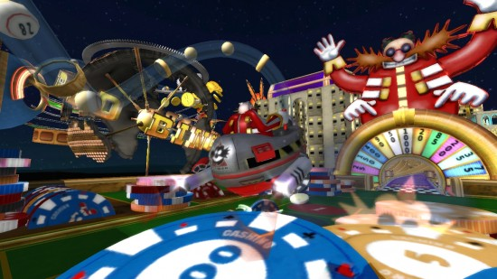 sonic and all stars racing wii