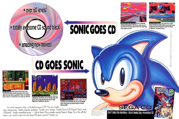 Want the Sonic CD re-release now? Buy a tablet from ...