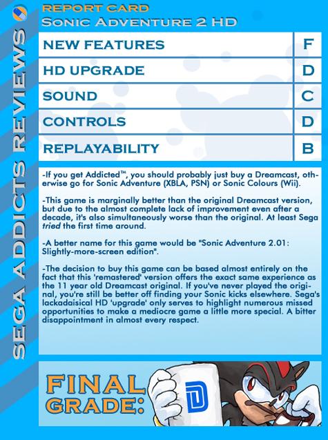 Review: Sonic Adventure 2 HD – Sega Addicts