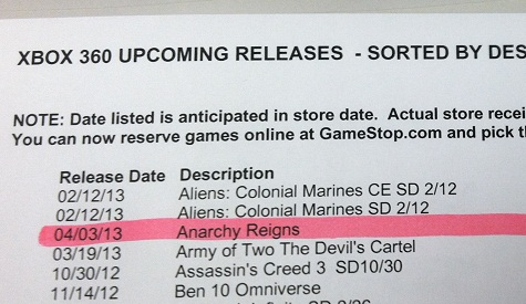 Gamestop release dates in Sydney
