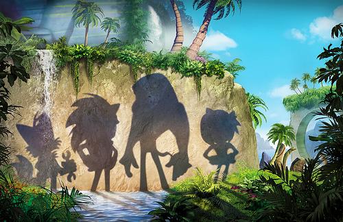 Sonic Boom shadows