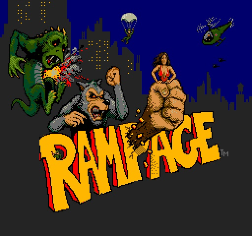 Rampage is an arcade classic still popular to this day.