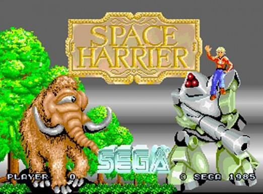 Space-Harrier-Title-Screen