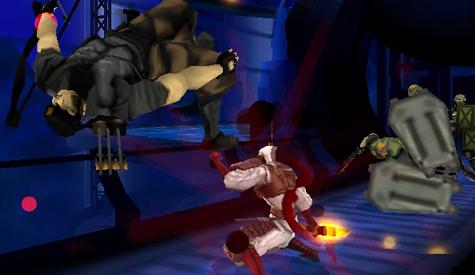 Skill Up Shinobi 3DS screenshot2