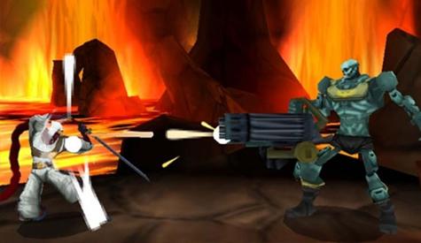 Skill Up Shinobi 3DS screenshot3
