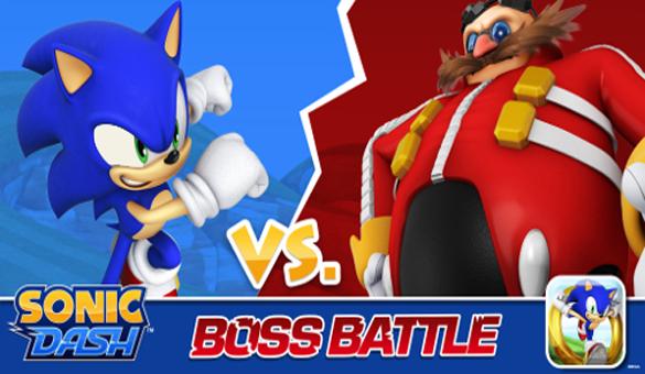SEGA ADDICTS Sonic Dash 3