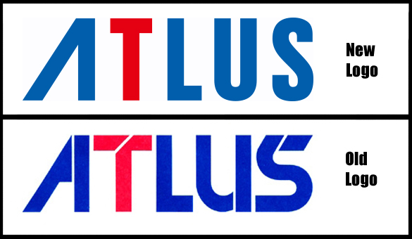 SEGA ADDICTS Atlus New Logo