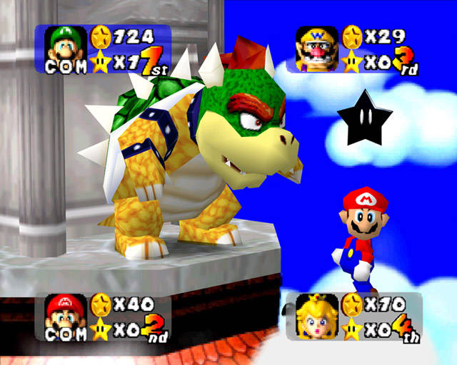 Mario Party Peach S Birthday Cake Rom Nintendo