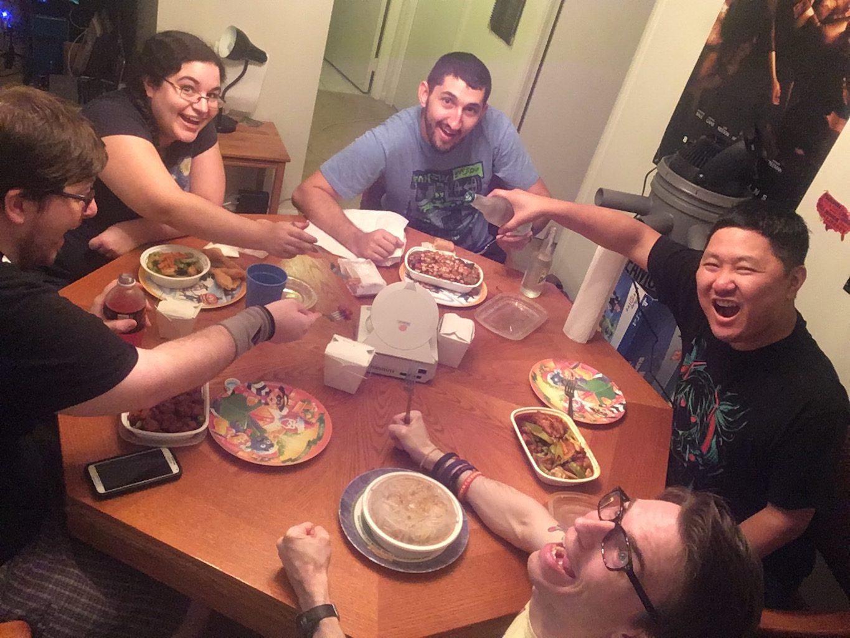 dc-selfie-dinner
